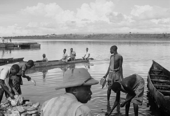 Ugandan Fishermen fine art photography