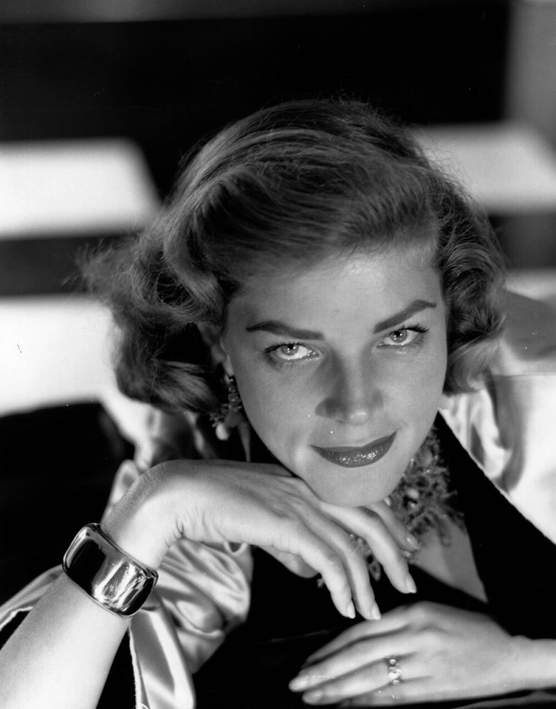 Lauren Bacall from Baron fine art photography