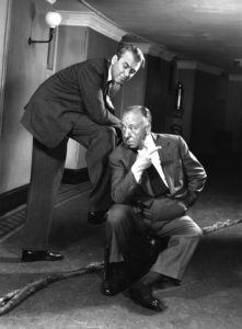 Hitchcock And Stewart