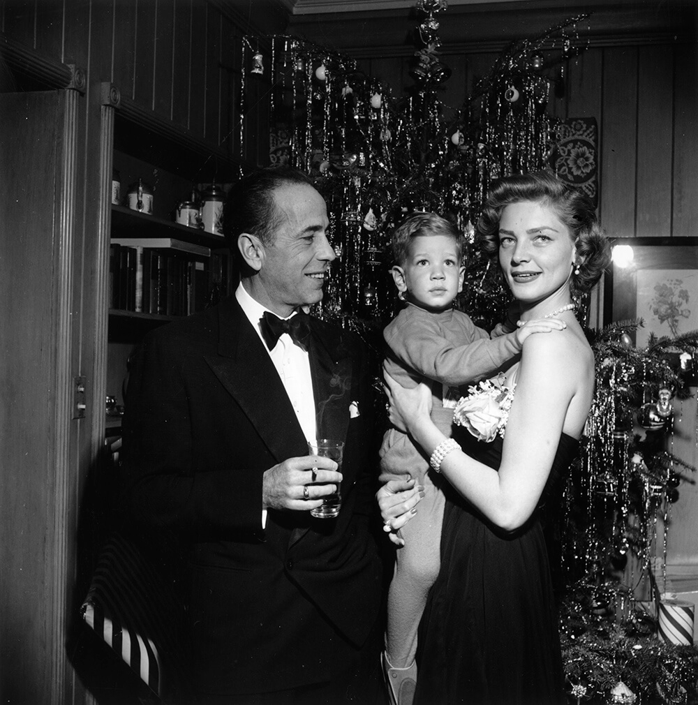 Bacall And Bogart from Slim Aarons B&W fine art photography
