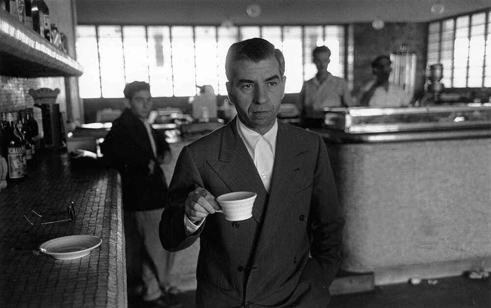 Lucky Luciano from Slim Aarons B&W fine art photography