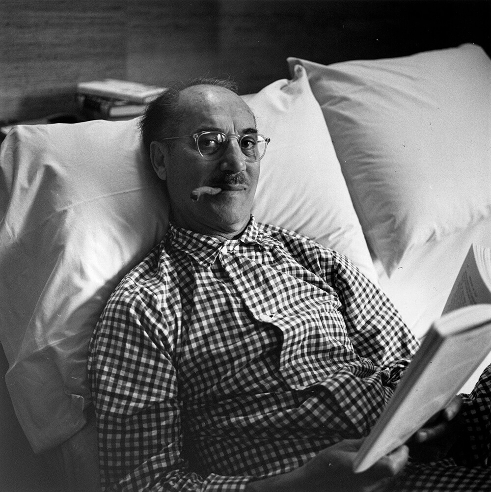 Groucho Marx from Slim Aarons B&W fine art photography