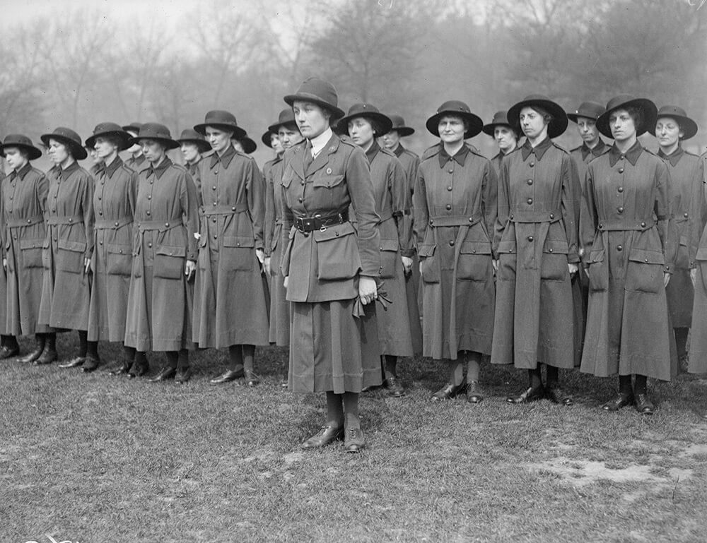 Women's Army fine art photography