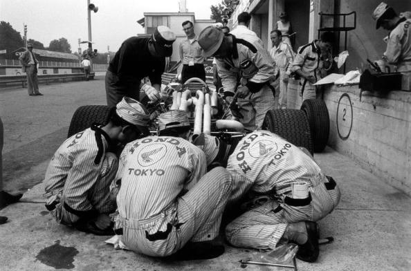 Honda Mechanics from Reg Lancaster fine art photography
