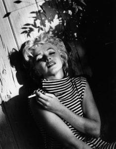 Marilyn In The Garden