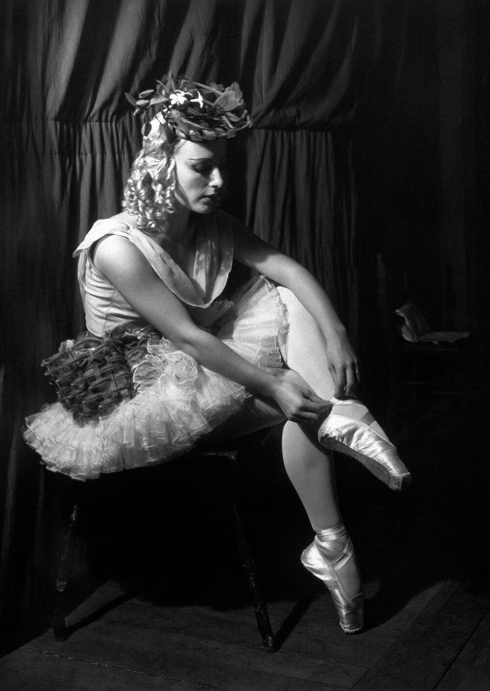 Seated Ballerina fine art photography