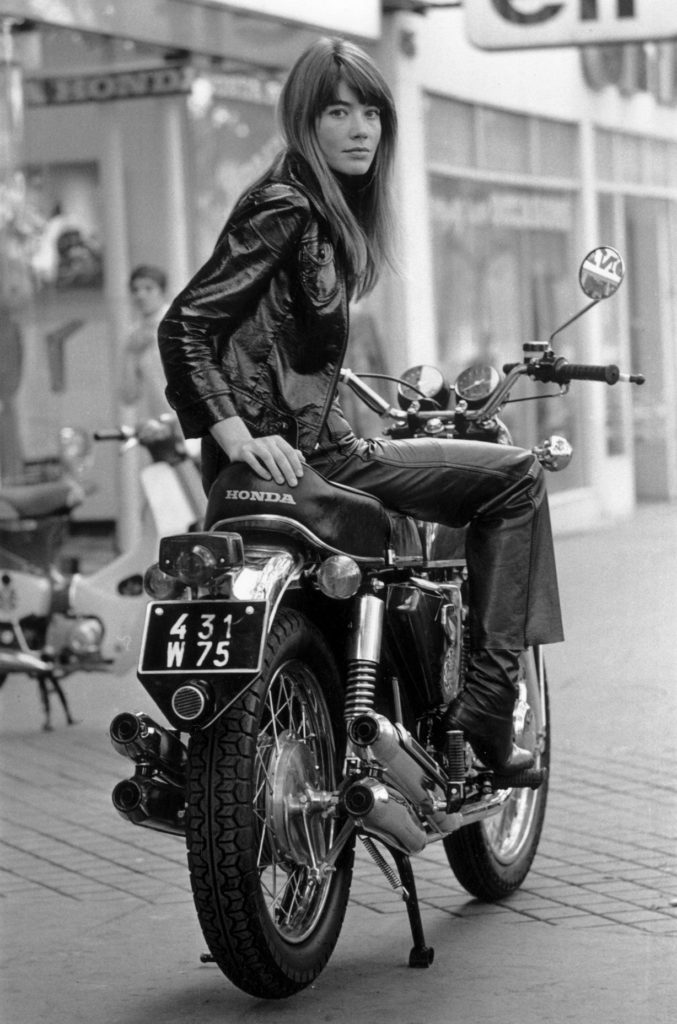 Francoise Hardy from Transport fine art photography