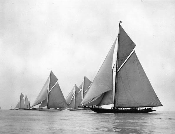 Cowes Race from Sports fine art photography