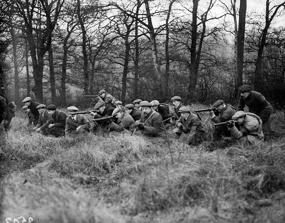 Volunteer Army fine art photography