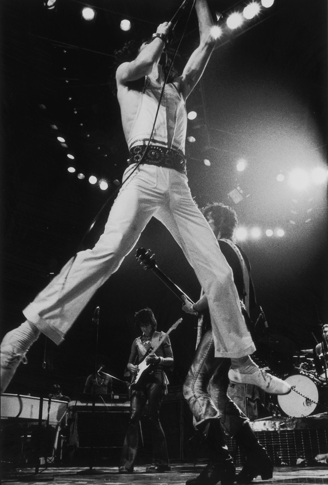 Jump from Rolling Stones fine art photography