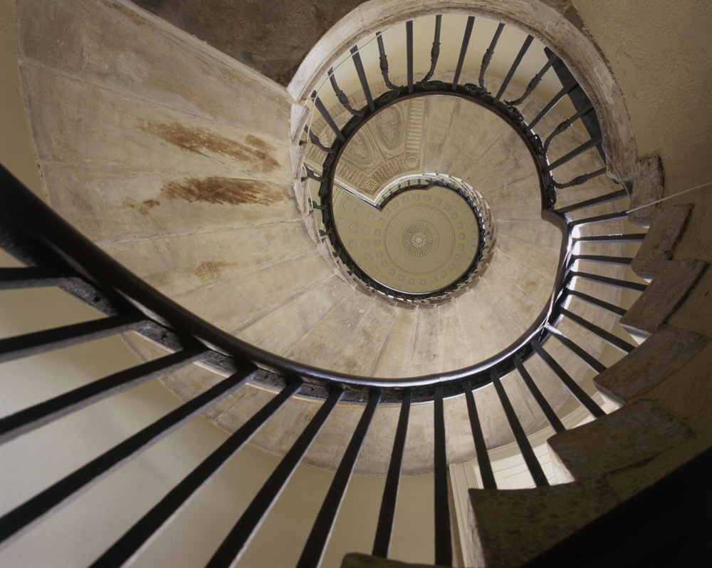 Spiral Staircase from Christopher Simon Skyes fine art photography
