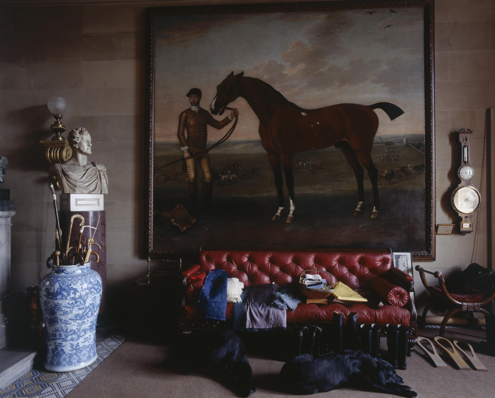 Chatsworth Painting from Christopher Simon Skyes fine art photography