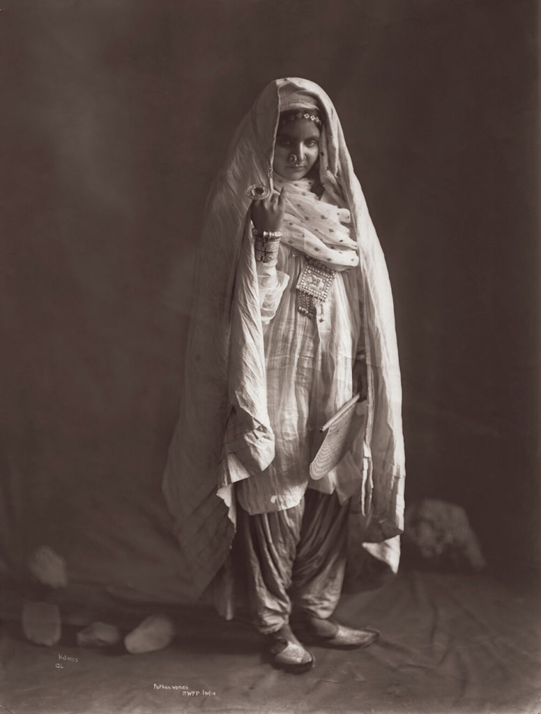 Pathan Woman from Portraits fine art photography