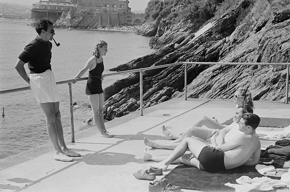 Grand Relaxation from Bert Hardy fine art photography