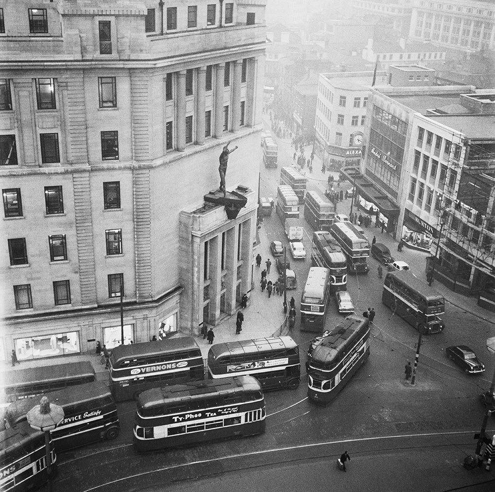 Busy Buses from Bert Hardy fine art photography