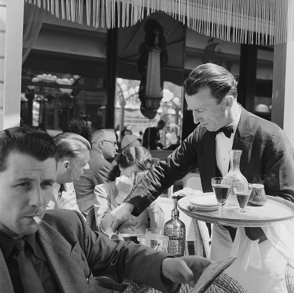 Cafe Culture from Bert Hardy fine art photography