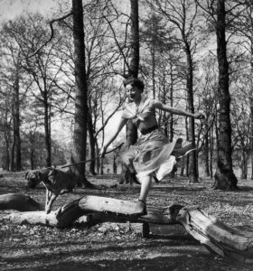 Leaping Audrey