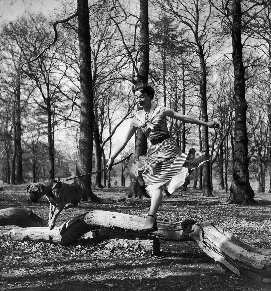 Leaping Audrey from Bert Hardy fine art photography