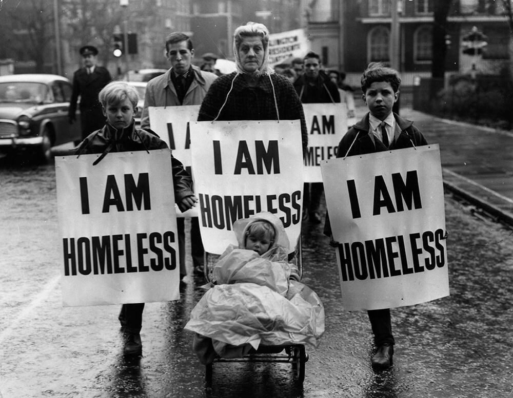Homeless March fine art photography