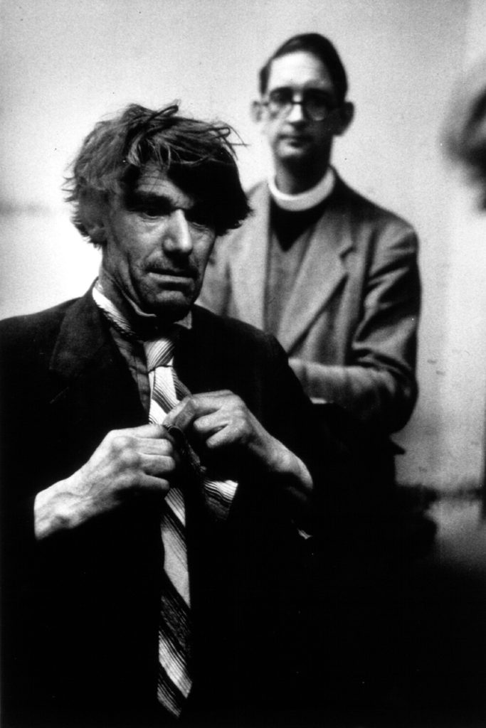 Smart Homeless Man from John Chillingworth fine art photography