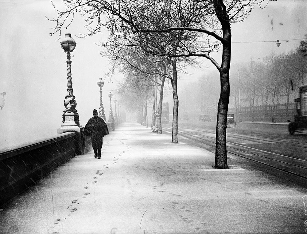 Winter Beat from London fine art photography