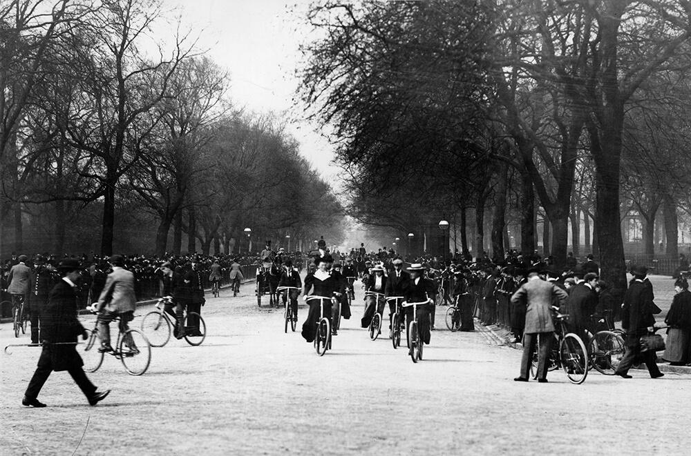 Leisure Cyclists fine art photography
