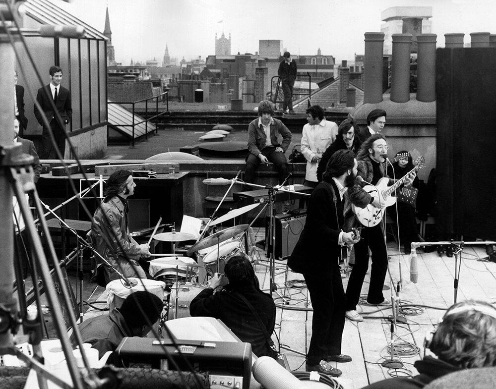 Rooftop Beatles from Beatles fine art photography