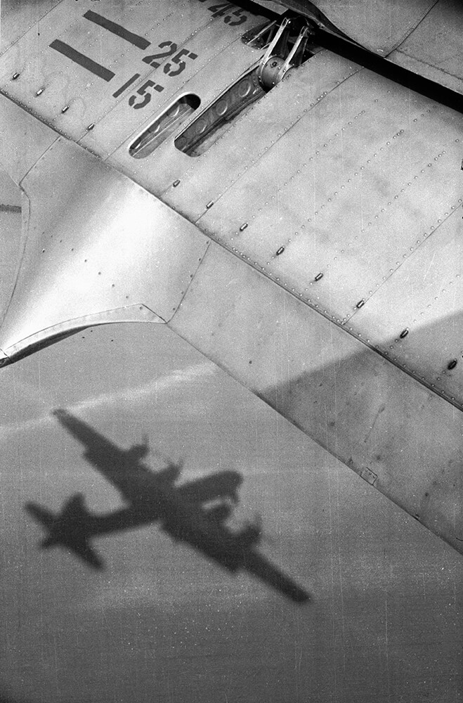 Aircraft Shadow from Picture Post fine art photography