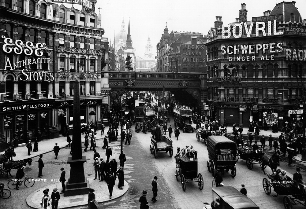 Ludgate Hill London fine art photography
