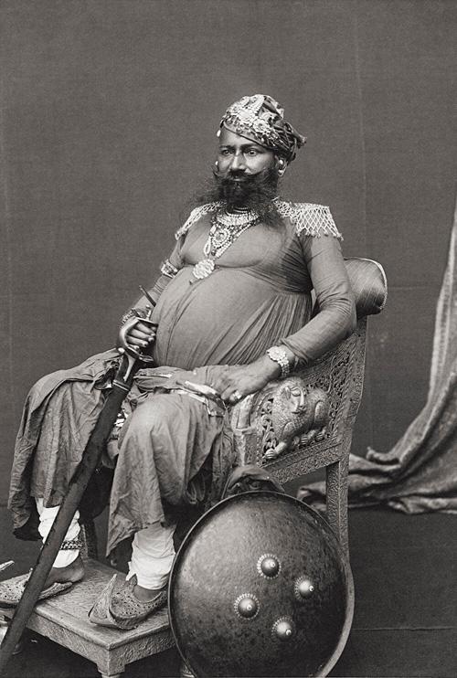 Maharajah Of Karauli from Portraits fine art photography