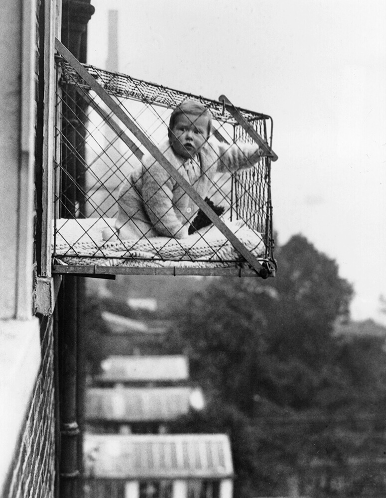 Baby Cage fine art photography