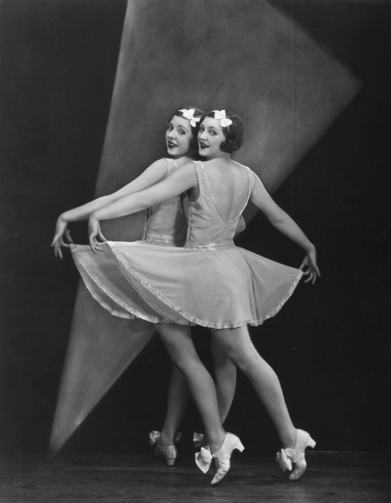 Twins Dancing from Sasha fine art photography