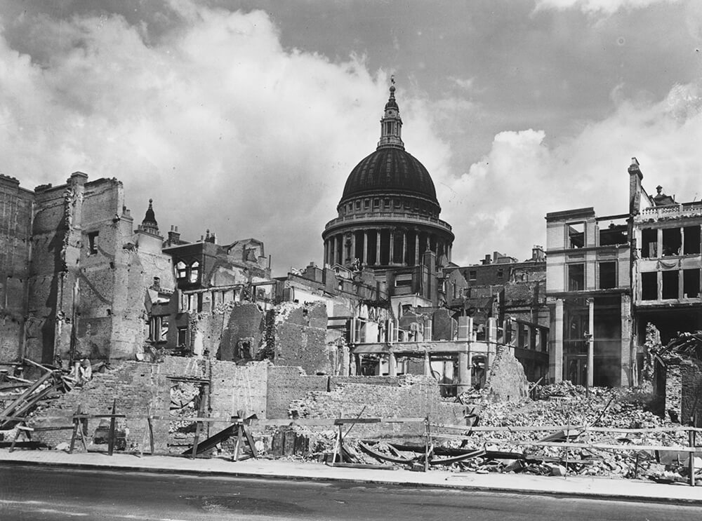 Wartime Devastation fine art photography