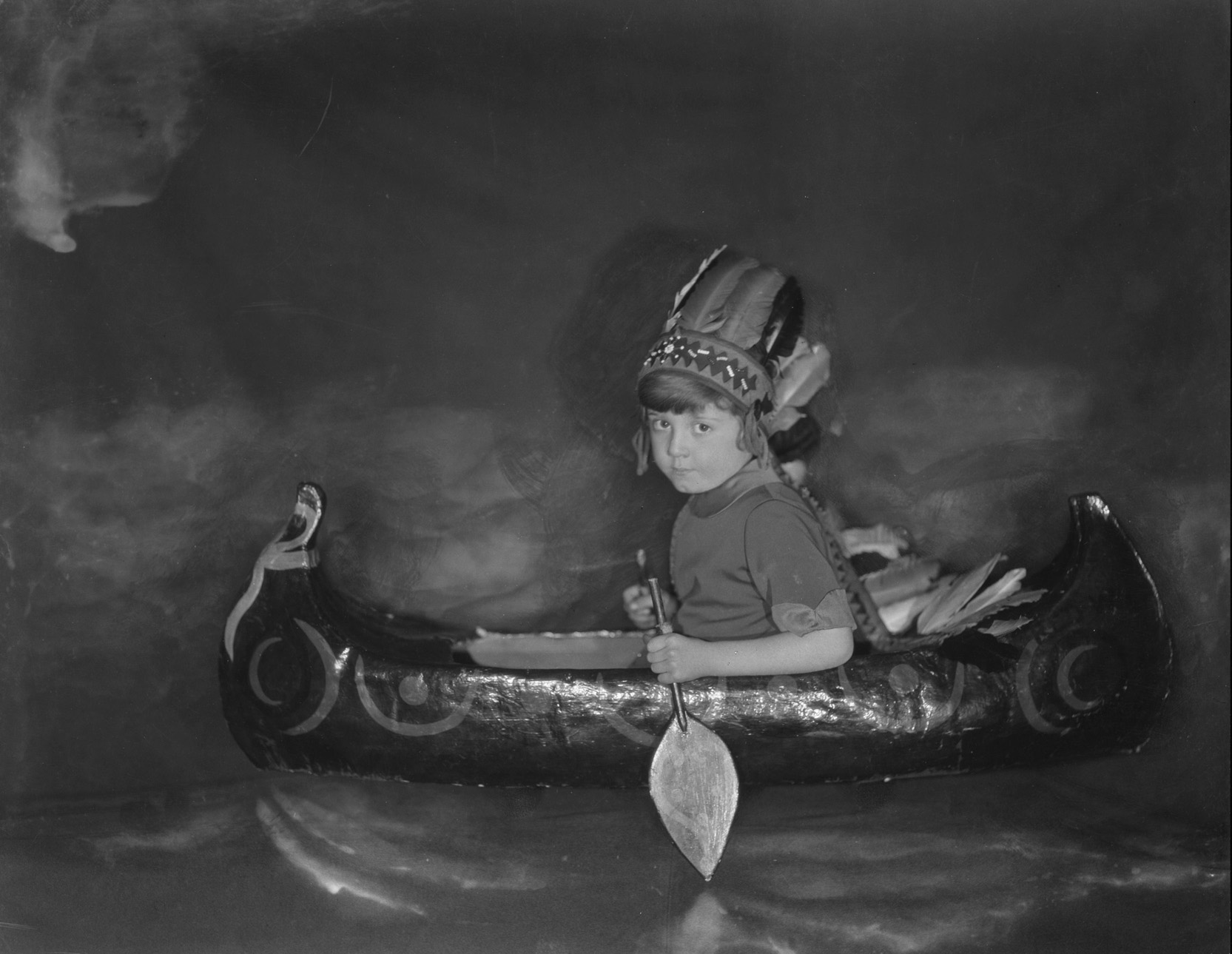 Paddling Toy Canoe fine art photography