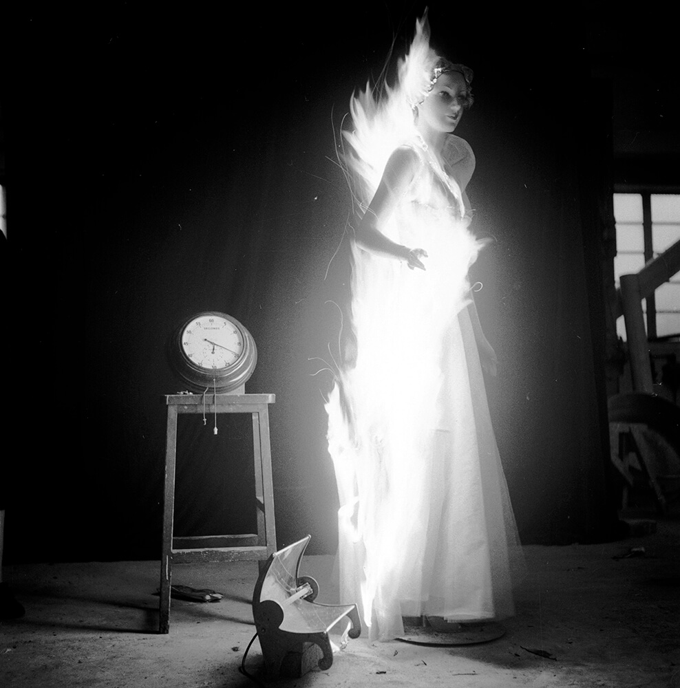 Flaming Clothes from Picture Post fine art photography