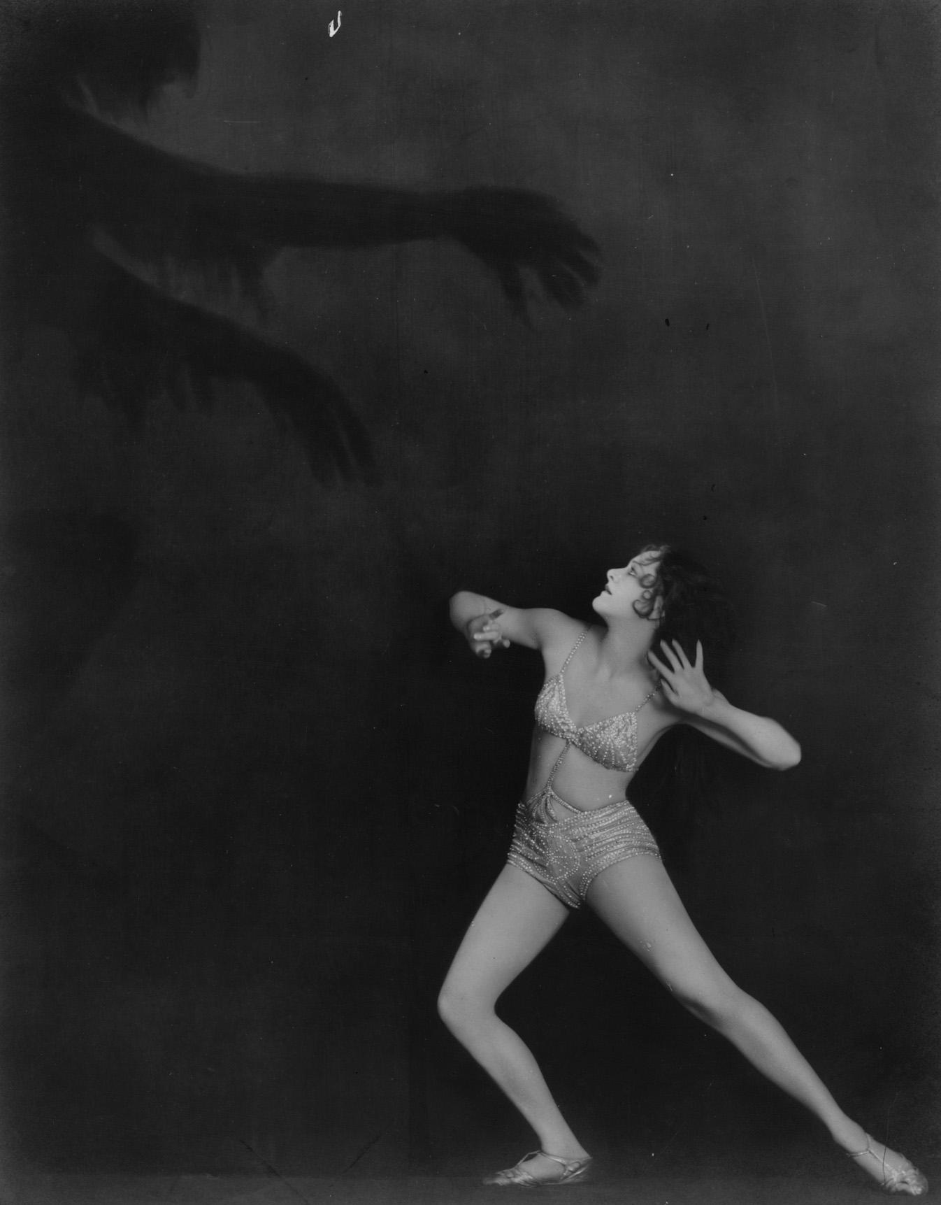 Frightened Dancer fine art photography