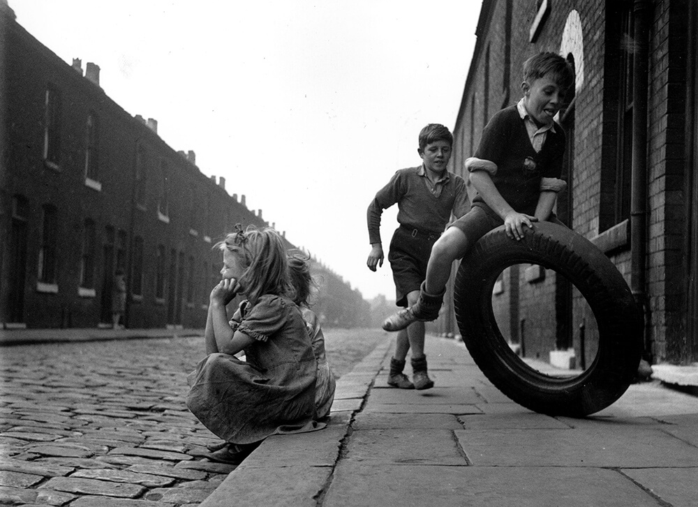 Salford Street Fun from John Chillingworth fine art photography