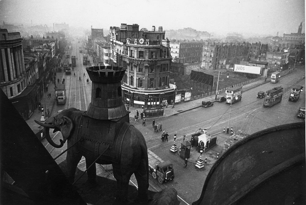 Elephant And Castle from Bert Hardy fine art photography