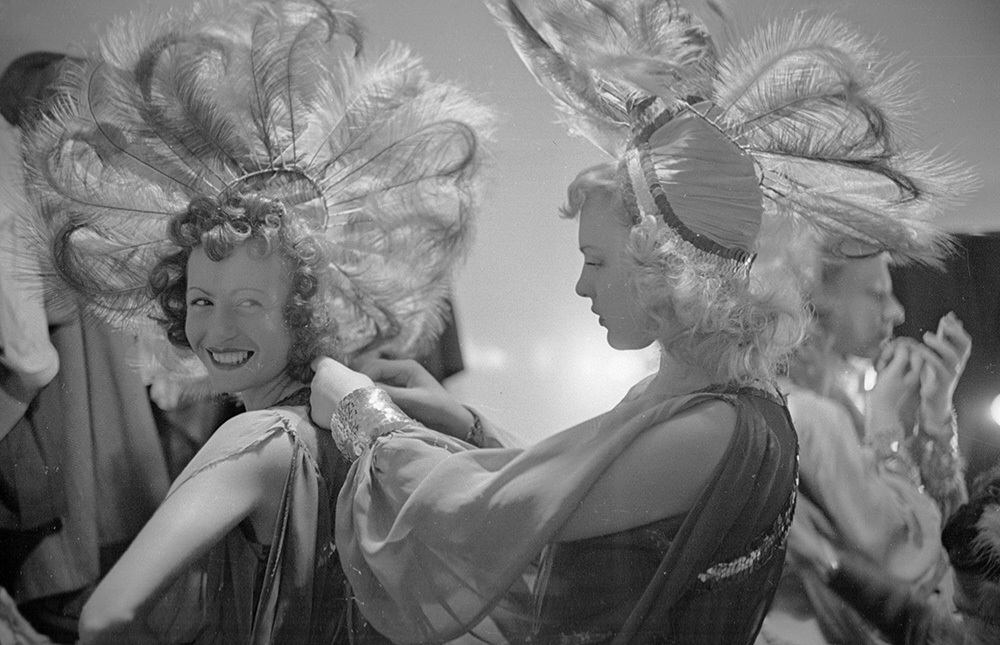 Feather Headdress from Fashion fine art photography