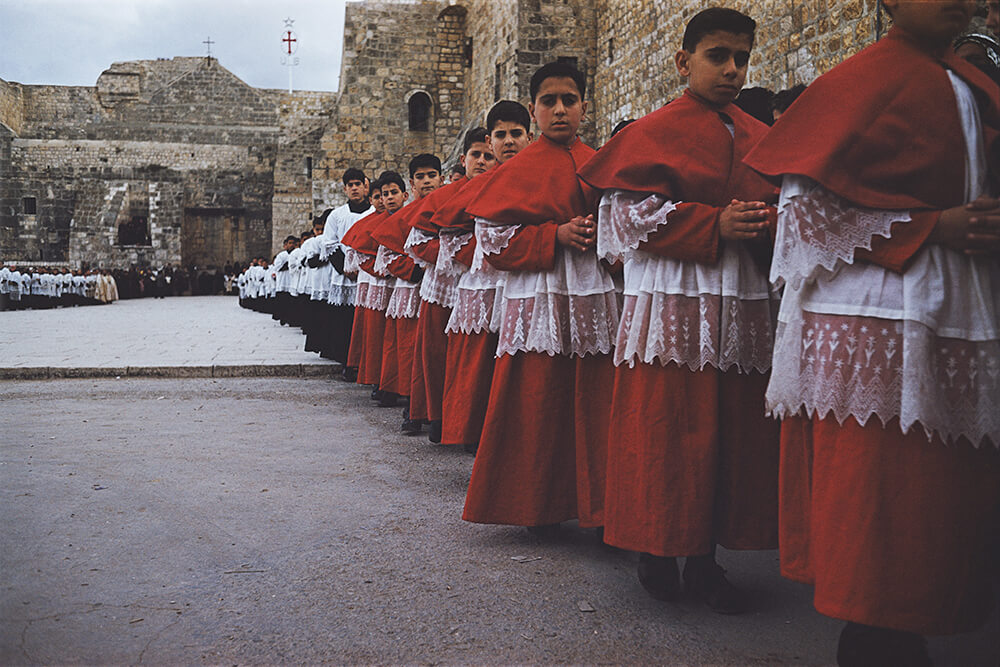 Christmas Choirboys from Picture Post fine art photography