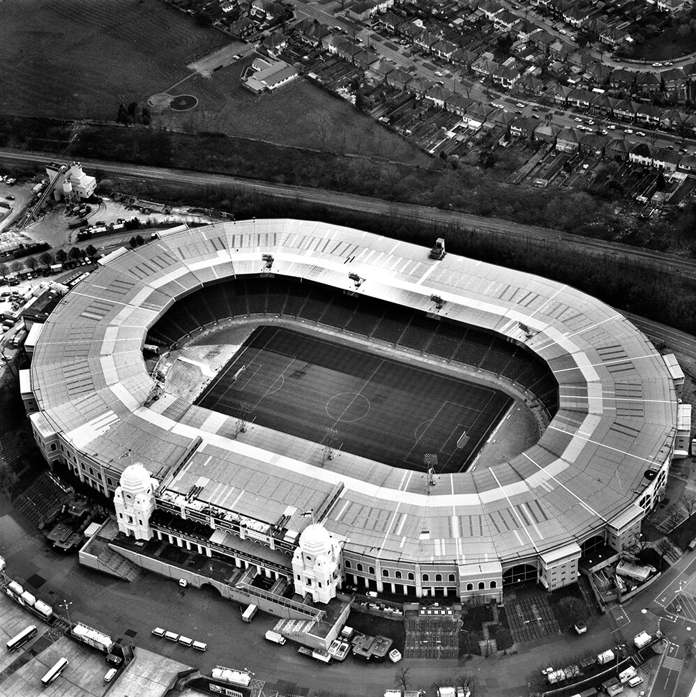 Old Wembley Stadium, London, 1999 from Sports fine art photography