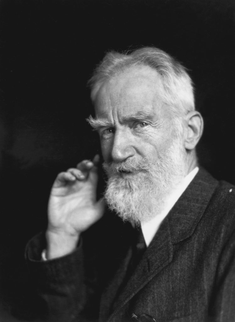 George Bernard Shaw from Portraits fine art photography