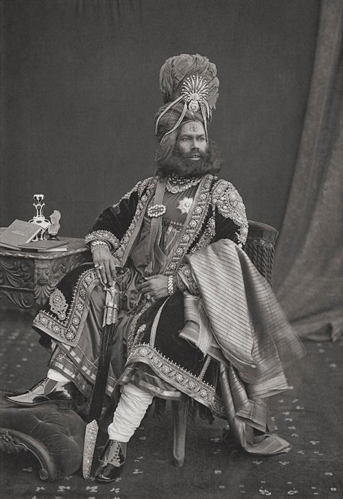 Maharaja Of Punnah from Portraits fine art photography