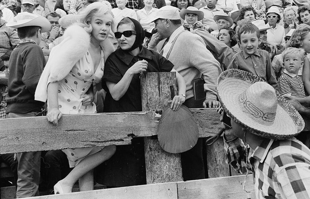 Marilyn With Paula from Marilyn Monroe fine art photography