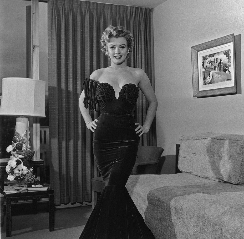 Marilyn Monroe In An Evening Dress from Marilyn Monroe fine art photography