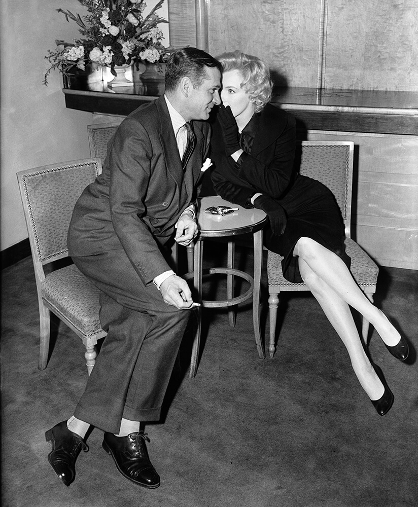 Monroe And Olivier from Marilyn Monroe fine art photography