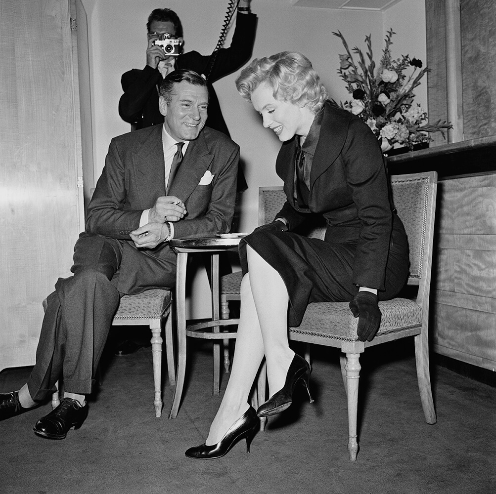 Savoy Press Conference from Marilyn Monroe fine art photography
