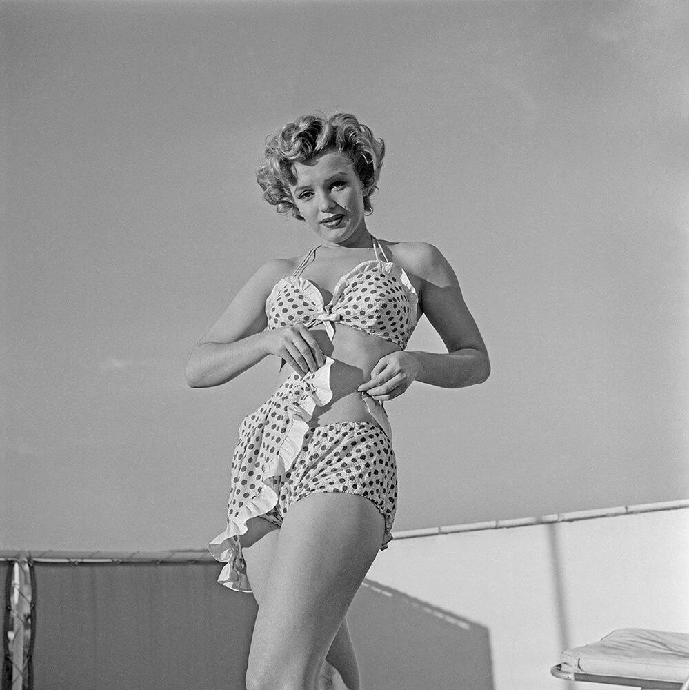 Polka Dots from Marilyn Monroe fine art photography