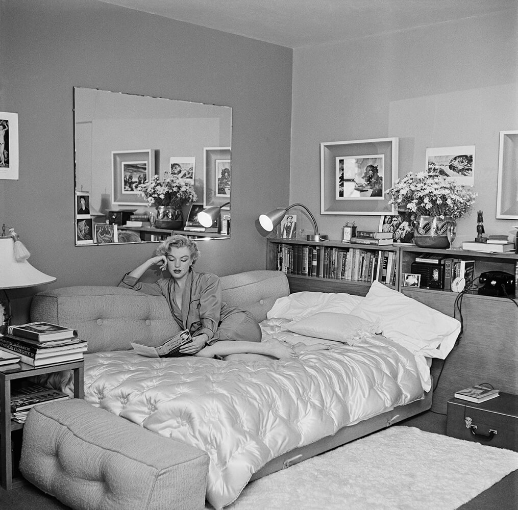 Marilyn Relaxes from Marilyn Monroe fine art photography