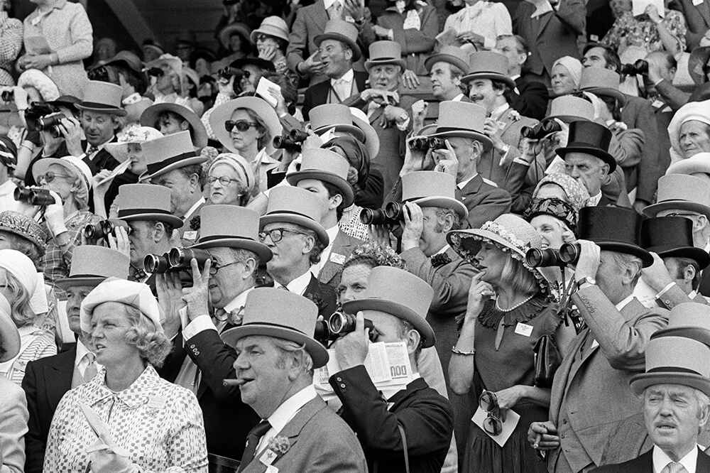Ascot Crowd from Royal Ascot fine art photography